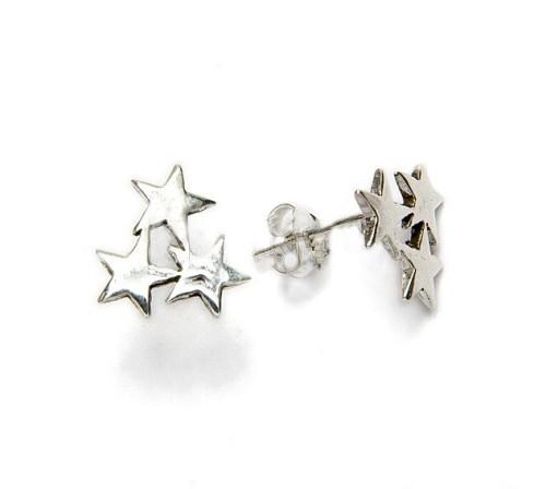 Pendiente Constelacion Tres Estrellas