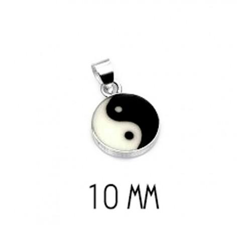 Colgante Yin Yang Pequeño Plata